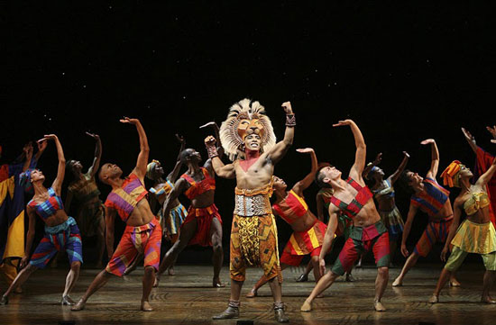 The Lion King Cadillac Palace Theatre Chicago