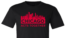 Chicago Acts Together T-shirt