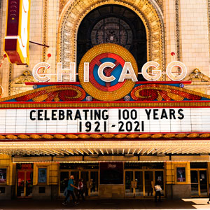 Chicago Theatre 100 Years Old
