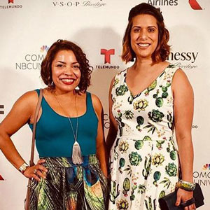 Wendy Mateo and Lorena Diaz