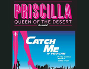 Priscilla Queen Of The Desert and Catch Me If You Can