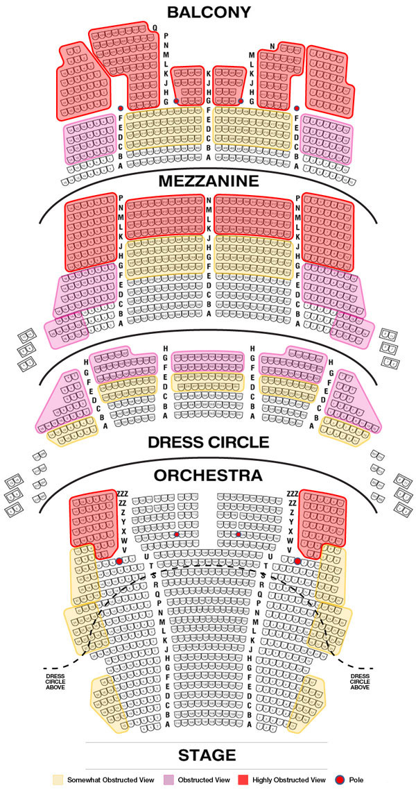 Best Seats For Hamilton In Chicago