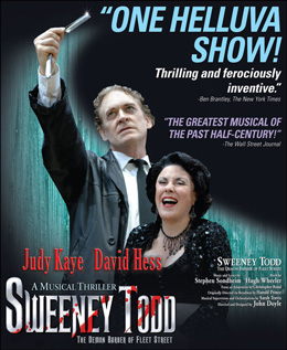 Sweeney Todd Slices Its Way to Chicago's Cadillac Palace