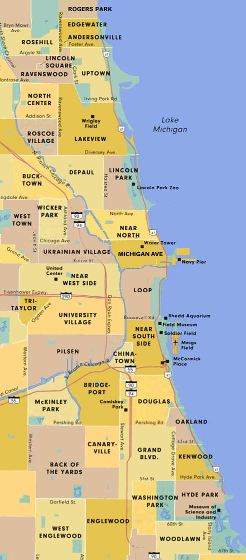 Chicago And Surrounding Suburbs Maps Quotes