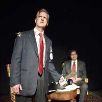 Jim Lehrer and the Theater and Its Double and Jim Lehrer's Double
