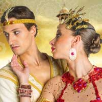 La Bayadere: The Temple Dancer