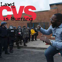 LAWD the CVS is Burning
