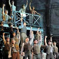Newsies Musical in Chicago