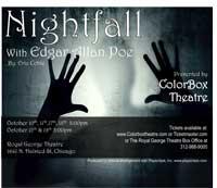 Nightfall with Edgar Allan Poe