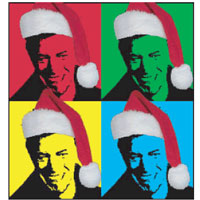 the david bowie hepzikat funky velvet flarney solstice spectacular live from space - David Bowie Christmas