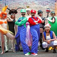 Boobs and Goombas, A Super Mario Bros Burlesque