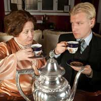 Tea with Edie and Fitz