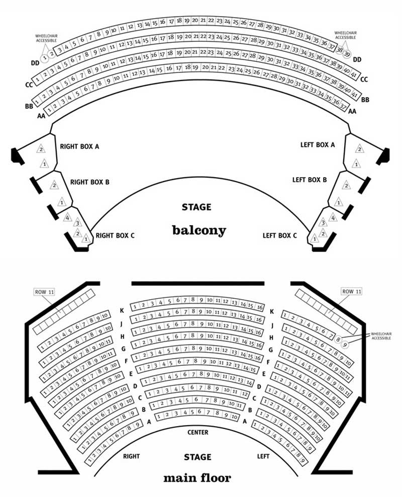 Steppenwolf Theatre Downstairs Mainstage Seating Chart