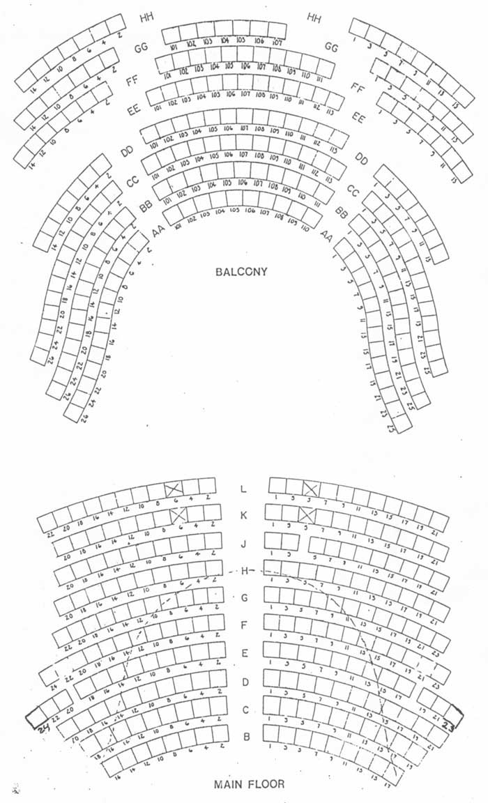 Woodstock Opera House Seating Chart
