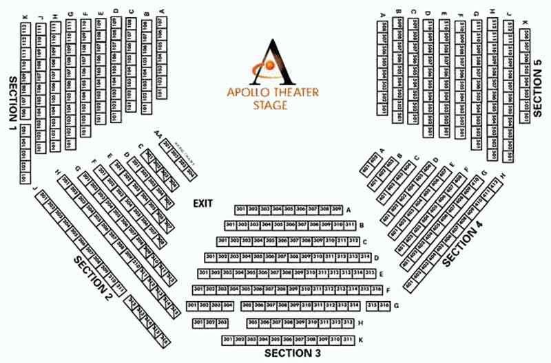 Apollo Theatre Seating Chart