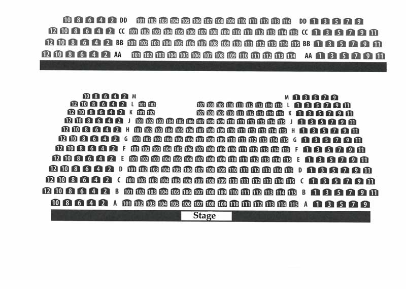Beverly Arts Center Seating Chart