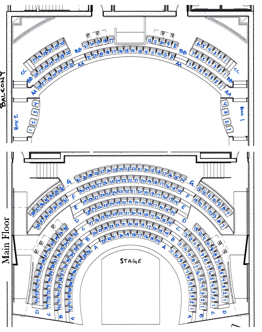 Black Ensemble Theater Seating Chart
