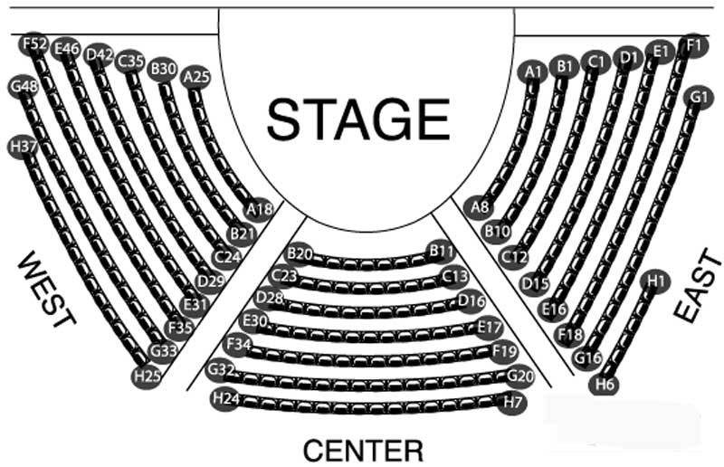 Chicago Center Seating Chart