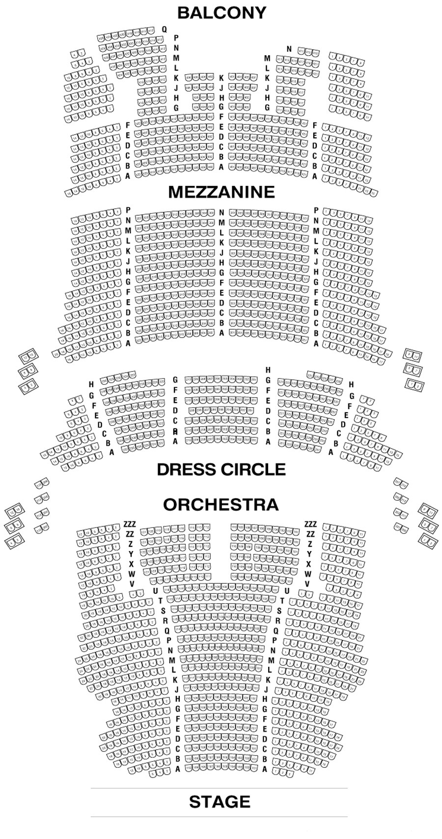 Cibc Theatre Seating Chart Theatre In Chicago