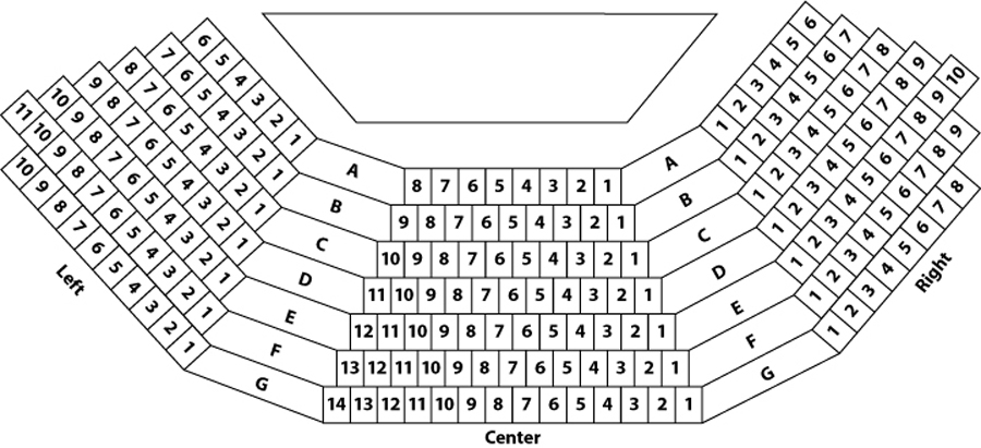 Greenhouse Theater Downstairs Mainstage Seating Chart