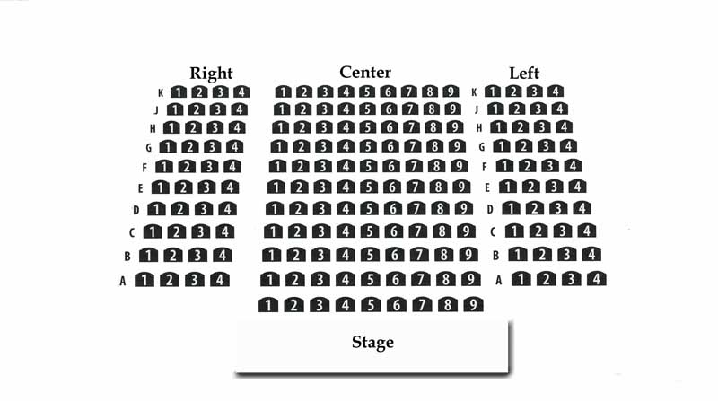 Illinois Theatre Center Seating Chart