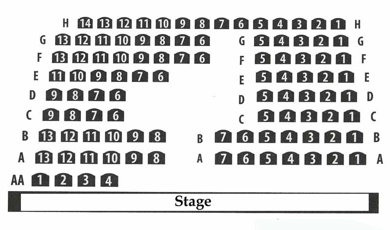 Lifeline Theatre Seating Chart