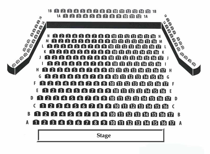 Mercury Theatre Seating Chart
