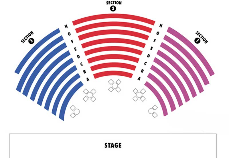 Metropolis Performing Arts Centre Seating Chart