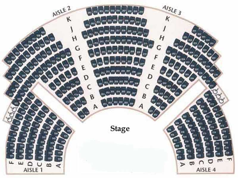 Northlight Theatre Seating Chart
