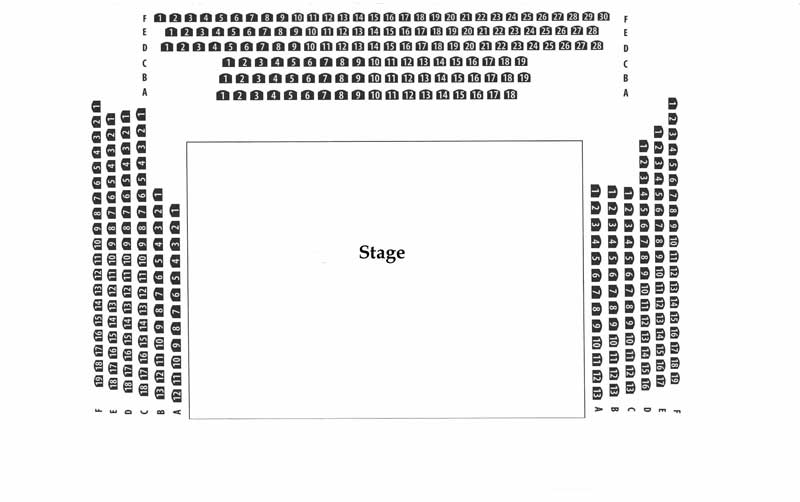 Theatre On The Lake Seating Chart