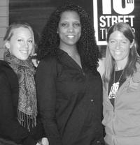 Ann Filmer, Cheri Lynne and Caroline Rau