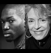 Tarell Alvin McCraney and Martha Lavey