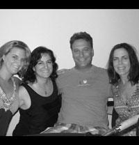 Victoria Deiorio, Tosha Fowler, Scott Cummins and Julia Neary