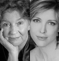 Mary Ann Thebus and Lia Mortensen