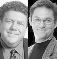 George Wendt and Richard Thomas
