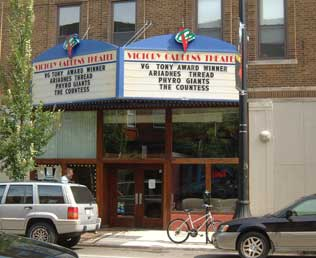 Countdown Begins For Opening Of Victory Gardens Theater At The Biograph Theatre News Theatre